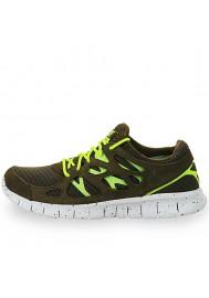 Chaussures Nike Free Run+ 2 EXT (Ref: 555174-337)  Hommes Running