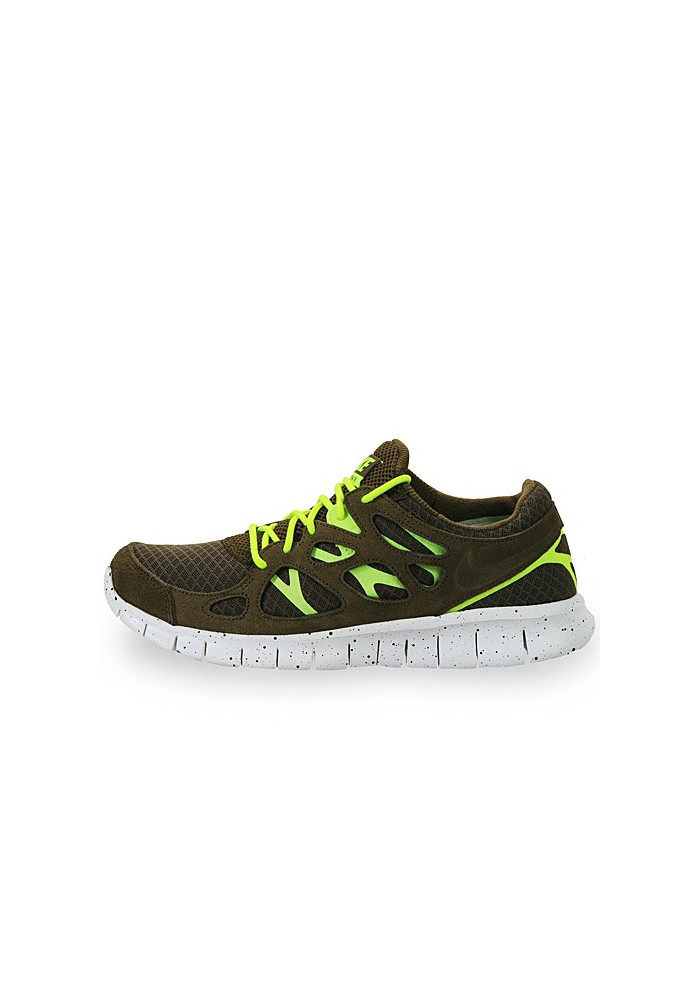 Chaussures Nike Free Run+ 2 EXT 555174-337 Hommes Running