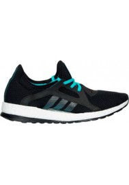 Adidas Sneaker Damen Pure Boost X Running AQ6681-BKG Core Black/Shock Green