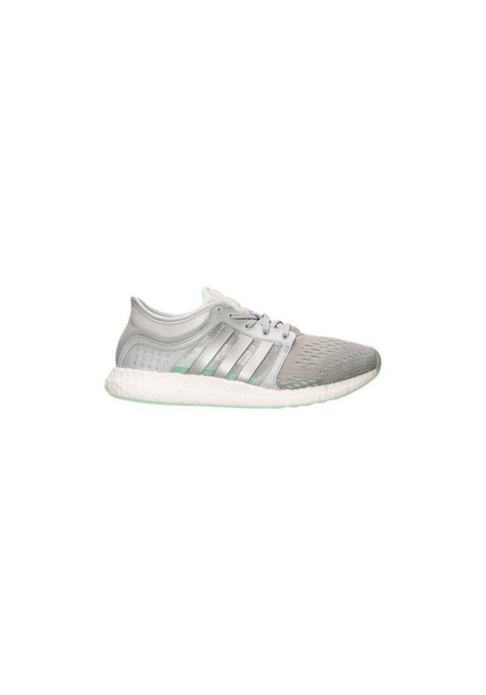 pretty nice a0617 16ea5 Adidas Schuhe Damen CC Rocket Boost Running B25279-GRY Grey Metallic Silver  Green