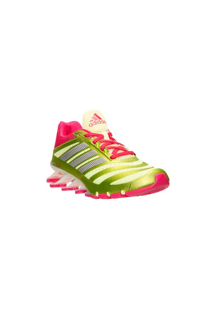 Adidas Schuhe Damen Springblade Ignite Running D69801 YLW Frozen YellowBold PinkWhite