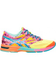 Laufschuhe Damen Asics GEL Noosa Tri 10 Running T580N-073 Flash Yellow/Turquoise/Flash Pink