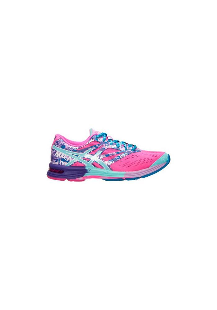 Laufschuhe Damen Asics GEL Noosa Tri 10 Running T580N 356 Pink GlowAqua SplashFuchsia