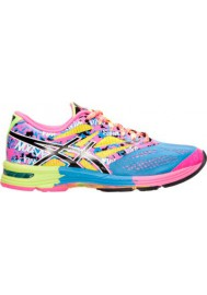 Laufschuhe Damen Asics GEL Noosa Tri 10 Running T580N-479 Powder Blue/Black/Hot Pink
