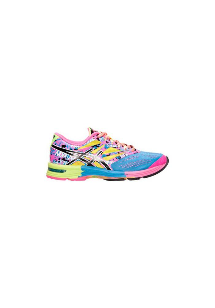 Laufschuhe Damen Asics GEL Noosa Tri 10 Running T580N-479 Powder Blue/Black/Hot Pink