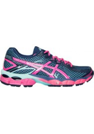 Laufschuhe Damen Asics GEL Flux Running T568Q-502 Medium Blue/Pink/Aqua