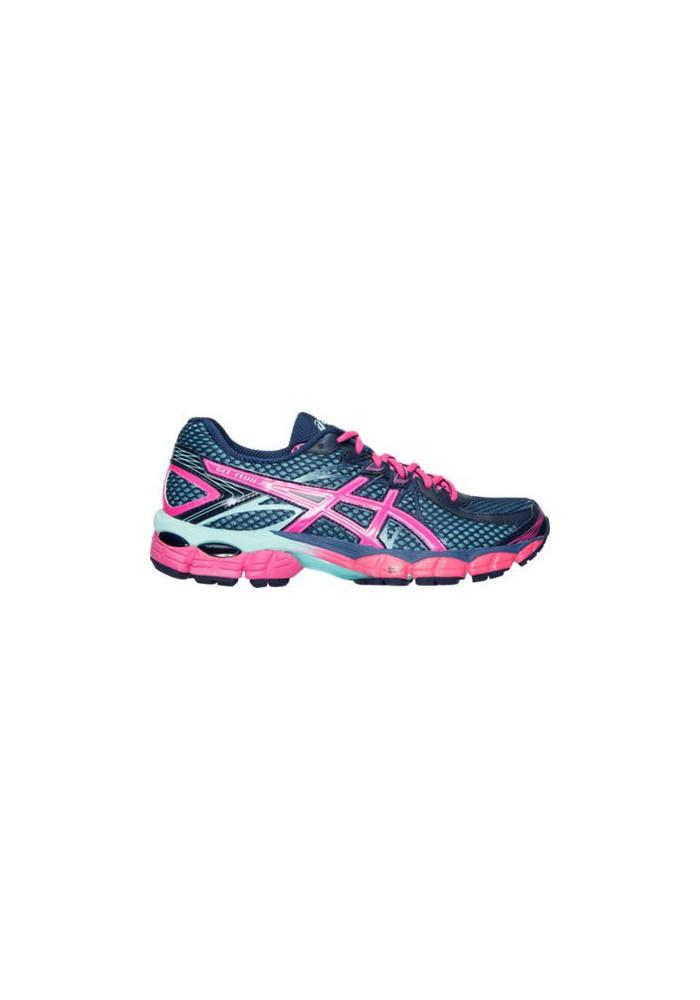 Laufschuhe Damen Asics GEL Flux Running T568Q-502 Medium Blue/Pink/Aqua