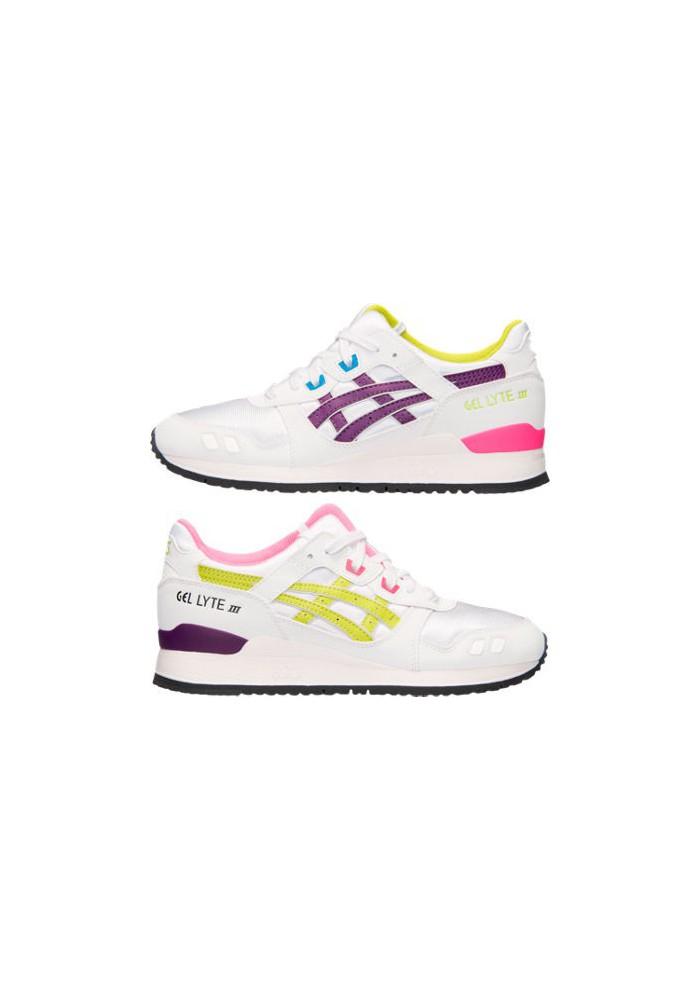 Laufschuhe Damen Asics GEL Lyte III H5M8N-013 White/Purple