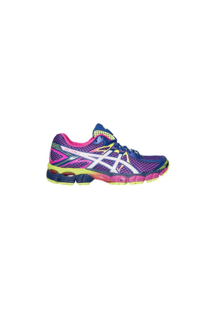 Laufschuhe Damen Asics GEL Flux Running T568Q-330 Blue/White/Flash Yellow