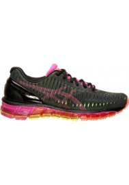 Laufschuhe Damen Asics GEL Quantum 360 Running T5J6N-909 Black/Silver/Flash Yellow