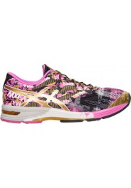 Asics Damen Sneaker GEL Noosa Tri 10 Running T5M9N-909 Black/Gold/Gold Ribbon