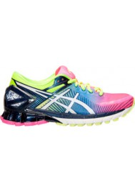 Asics Damen Sneaker GEL Kinsei 6 Running T694N-340 Hot Pink/White/Flash Yellow