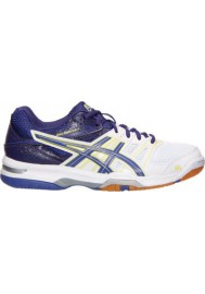 Asics Damen Sneaker GEL Rocket 7 Volleyball B455N-133 White/Purple