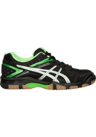Asics Damen Sneaker GEL 1150V Volleyball  B457Y-005 Black/Neon Green