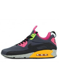 Baskets Nike Air Max 90 Sneakerboot 616314-008 Hommes Running