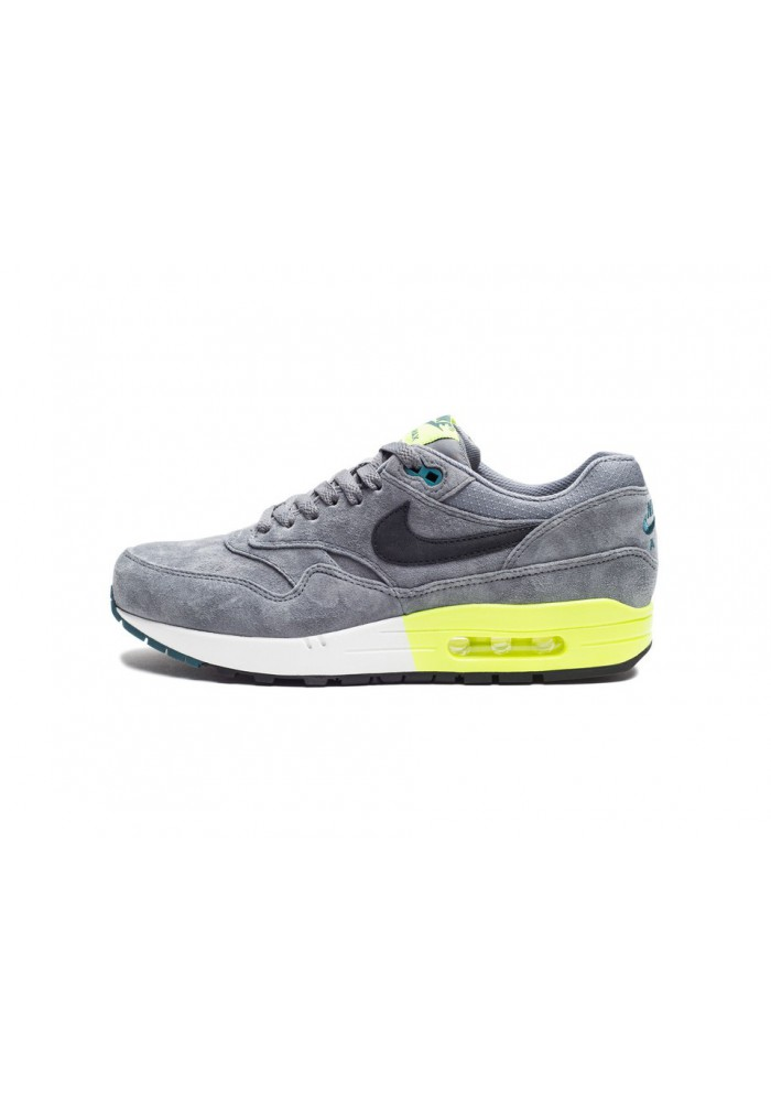 Basket Nike Air Max 1 Premium 512033-011 Hommes Running