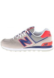 Sneakers New Balance ML574 Passport Pack (Couleur : Grey/Blue)