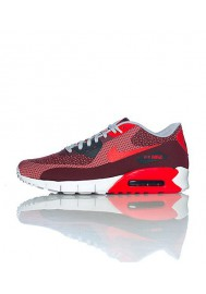 Nike Air Max 90 Jacquard Rouge (Ref : 631750-601) Chaussure Hommes mode 2014