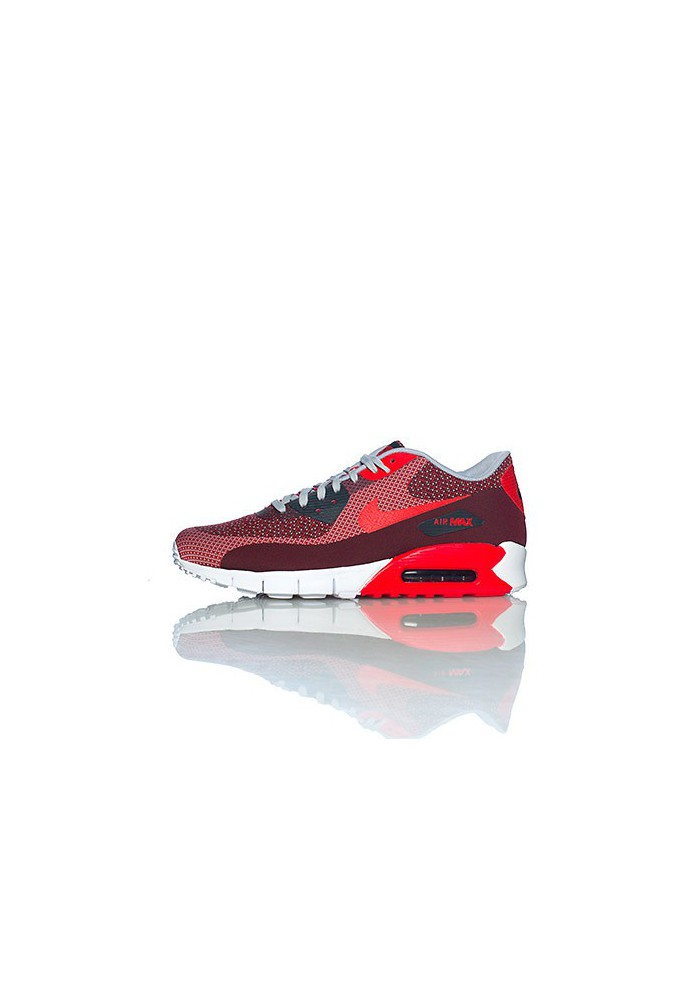 Running Nike Air Max 90 Jacquard Rouge (Ref : 631750-601) Chaussure Hommes mode 2014