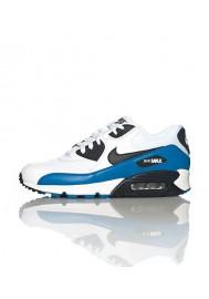 Nike Air 90 Essential Blanche Cuir (Ref : 537384-114) Chaussure Hommes mode 2014
