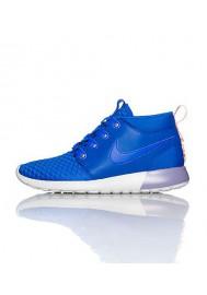Chaussures Hommes Nike Rosherun Mid Bleu Royal (Ref : 615601-480) Running