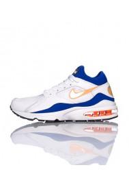 Running Nike Air Max 93 RETRO Blanche (Ref : 306551-100) Hommes Running