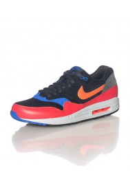 Nike Air Max 1 Essential Rouge (Ref : 537383-017) Basket Mode Hommes 2014