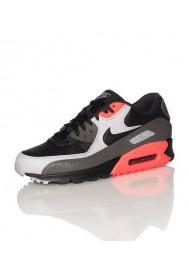 Nike Air Max 90 Cuir Noir (Ref : 652980-002) Chaussure Hommes mode 2014