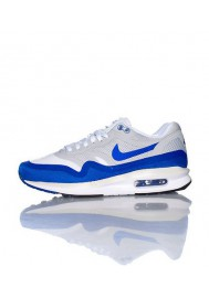 Baskets Nike Air Max Lunar 1 Bleu (Ref : 654937-100) Femmes Running