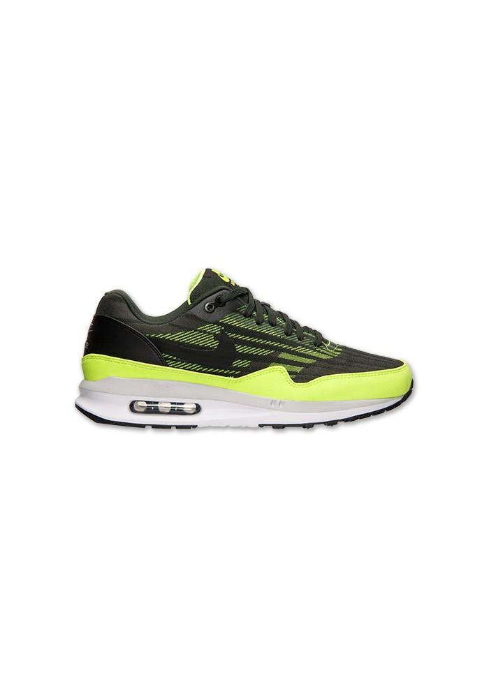 Baskets Nike Air Max Lunar 1 JCRD Noir (Ref : 654467-002) Hommes Running
