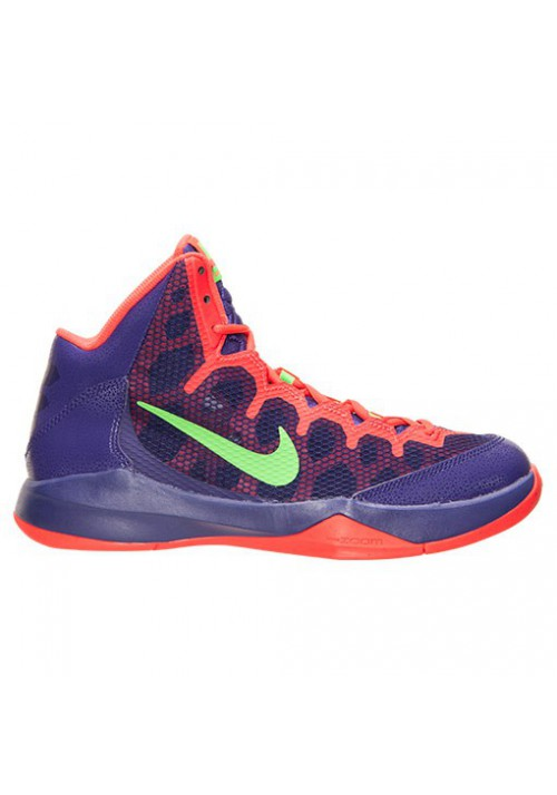 Nike Without a Doubt Basketball 749432-500 Court Purple/Green Strike/Chrome